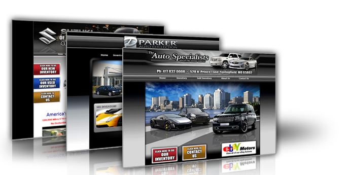 Dealership Website Design